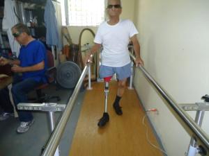 old man leg